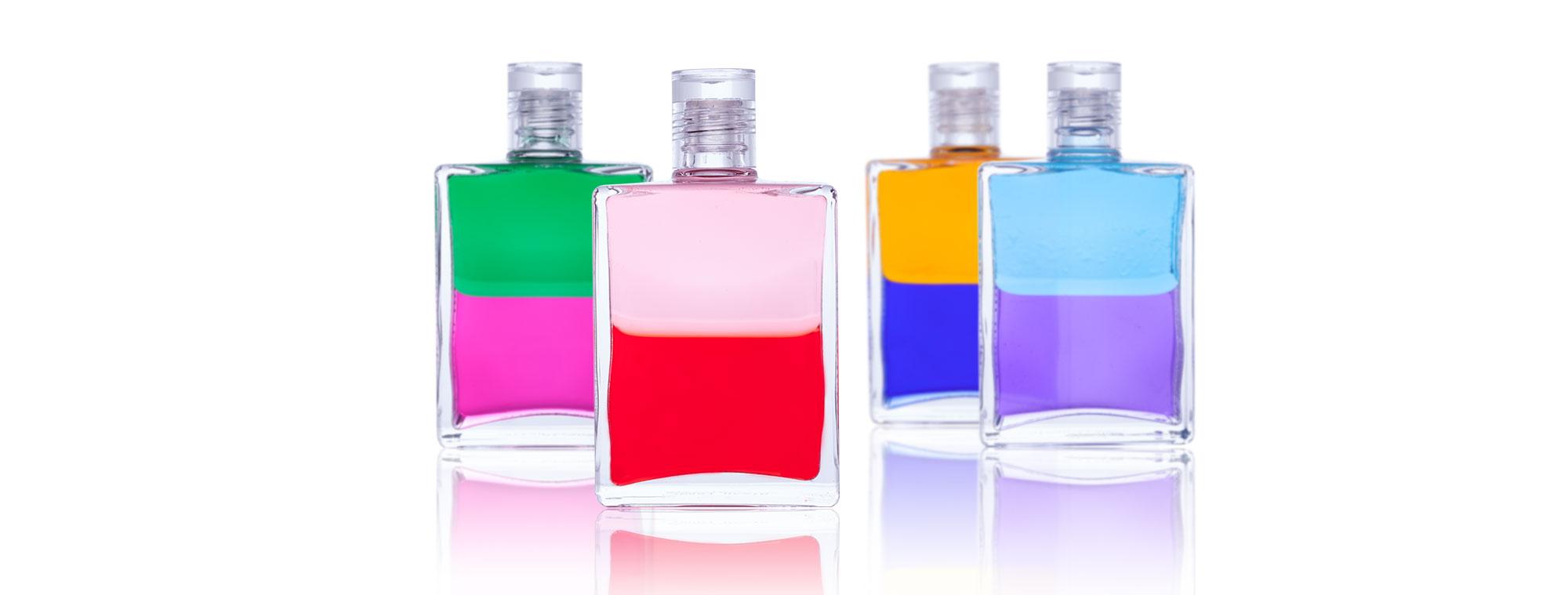 Eine Aura-Soma vier Flaschen wahl